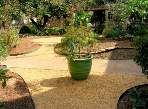 Hardscapes and unique gardens